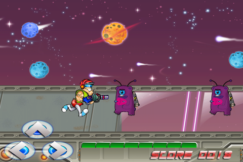 Screenshot Astro Buddy Warrior